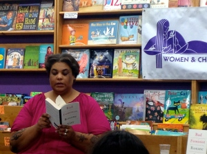 "Roxane Gay read from her book of essays, ""Bad Feminist,"" at Women & Children First."